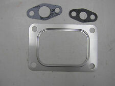 T6 TURBO INLET FLANGE STAINLESS STEEL GASKET SET with DRAIN & FEED TUBE GASKET