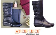 Arcopedico Shoes Portugal leather long boots Citrus