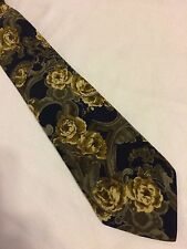 FENDI cravatta tie original 100% seta silk made in Italy nuova new