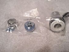 Water saving shower head & 2 Kit or bath faucet Aerators all 1.5 GPM flow