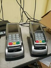 VeriFone Vx 820 Emv Credit Card Machine with Duet 820 - Lot of (2)