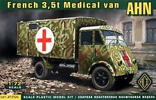 ACE 1/72 72524 WWII French 3.5t Medical Van AHN