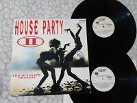 "HOUSE PARTY II THE ULTIMATE MEGAMIX 1992 ARCADE VG/VG LP VINILO VINYL 12"""