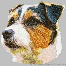Embroidered Sweatshirt - Jack Russell Terrier Dle2499 Sizes S - Xxl