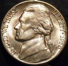 1950-D Jefferson Nickel Choice/Gem BU Uncirculated