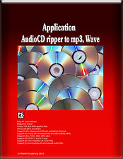 Audio CD to mp3, ripper, extractor, and converter for various formats Windows