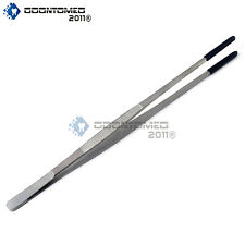 "Plastic PVC Coated Tip Steam Tweezer 12"" Long Ultrasonic Clean"