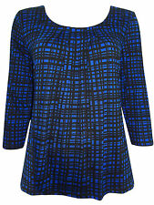 Marks and Spencer Women's Check Hip Length Casual Tops & Shirts