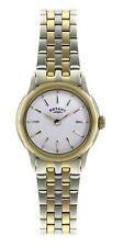 Rotary Women's Two tone bracelet steel Case Quartz Watch LB02571/03