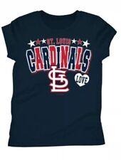 St. Louis Cardinals Girls Youth 14/16 Short Sleeve T-Shirt NWT