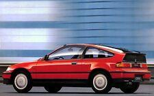 1988-1989-1990-1991 HONDA CRX PARTS LIST CATALOG PDF FILE