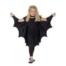 Bambino Vampiro Pipistrello Ali Kids Dracula Halloween Fancy Dress Ragazzi Ragazze Cape