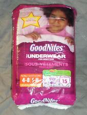 Goodnites Underpants, Small/Medium Girl, Jumbo, 15 ct