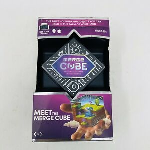 Merge Cube Holographic Handheld AR/VR Holograms Use Phone Android & Apple