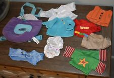 Webkinz clothing lot with For large plush 11 pieces total
