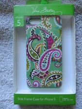 VERA BRADLEY IPHONE 5 slide frame PAISLEY GREEN CASE - NEW IN BOX!