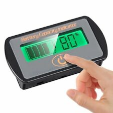 Battery Gauge Volt Gauge Battery Volt Meter 12V Volt digital Battery Monitor