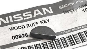Datsun Crankshaft Woodruff Key, 240Z 260Z 280Z 280ZX, 1970-1983, OEM NEW!