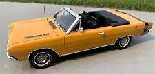 1/18 SCALE, Highway 61, YCID #5c, 1969 DODGE DART 440, 1 of 36 Convertibles !