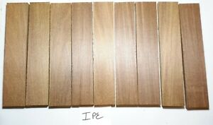 Exotic Wood Knife Scales, Craft Wood, You Choose Species, Thickness & Qty.
