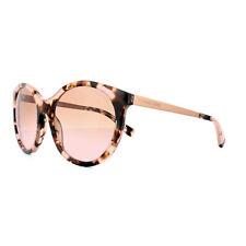 Occhiali da sole da donna con montatura in rosa e mantatura in metallo e plastica, in Italia