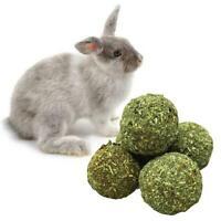 Pet Grass Ball Hamster Rabbit Chew Play Toy Calendula/Roses S Molar W9O3 Fl S0Q4