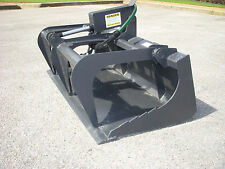 "Toro Dingo Mini Skid Steer Attachment - 42"" Smooth Bucket Grapple - Ship $149"