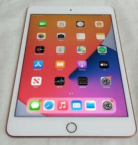 Apple iPad Mini (5th Generation) 64GB, Wi-Fi + 4G (Unlocked), 7.9in - Gold A2124