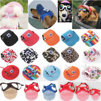 Pet Dog Hat Baseball Cap Windproof Sunbonnet Sports Sun Hats for Puppy Large Dog