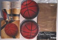 BASKETBALL Fanatic - Birthday Party Supply Pack Decoration Kit for 16