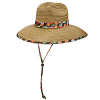 LS234 Ladies Dorfman Pacific Lifeguard Rush Straw Hat One Size