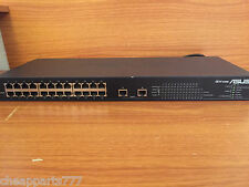 ASUS GX1026 24-Port 10/100Mbps & 2-Port 10/100/1000Mbps Fast Ethernet Switch
