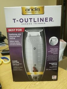 Andis T-outliner Corded T-blade Trimmer Gray