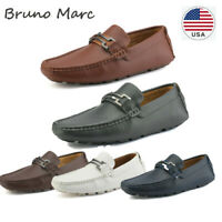 Bruno Marc Mens  Driving Penny Slip On Loafers Boat Moc Toe Casual US Shoes