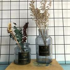 Home Decor Flower Plant Crystal Colored Glass Vases Home Decoration Flower Vases
