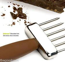 RSVP Coco-Pro Chocolate Chipping Fork Candy Making Tempering Baking Melting  New