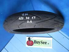 GOMME USATE MOTO 120/70 R17 PNEUMATICO CONTINENTAL 120 70 17 SPORT ATTAK -M70