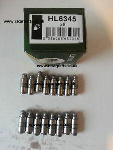 BG Automotive HL6345 Cam Lifters 16 PCS Hydraulic cam Follower lifters tappets