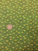 Classic Folk Art 1170 Green Fabri-quilt 100% Cotton Quilting fabric Spots
