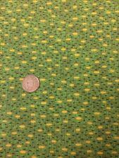 Classic Folk Art 1170 Green Fabri-quilt 100% Cotton Quilting fabric Spots
