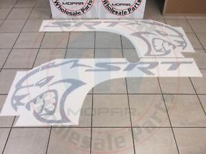 DODGE CHALLENGER Hellcat Bodyside Graphic Decal NEW OEM MOPAR
