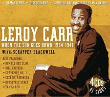 Leroy Carr - When The Sun Goes Down 19341941 [CD]