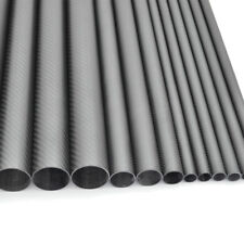 Carbon Fiber Tube OD30mm* ID26mm *1000mm 3K Roll Matt Surface (US Warehouse 1PC)