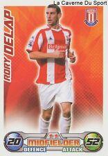 RORY DELAP # IRELAND STOKE CITY.FC BURTON ALBION CARD PREMIER LEAGUE 2009 TOPPS