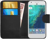 G-Shield® Luxury Leather Magnetic Flip Wallet Slim Case Cover For Google Pixel