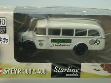 Brekina Steyr 380/I HAFLINGER Service/ Austria - 58005 - 1/87
