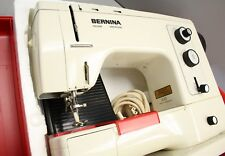 Bernina 830 Record Electronic Sewing Machine w Bright Red Case