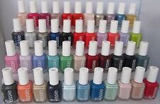 LOT OF 10 Essie Nail Polish 0.5 fl oz Full Size Bottles ~You Pick Your Colors!