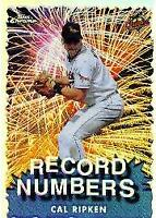1999 Topps Chrome Record Numbers Refractors Baseball Card #RN9 Cal Ripken