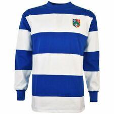 Queens Park Rangers retro style football soccer shirt